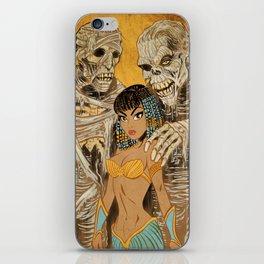 Mistress of the Mummies iPhone Skin
