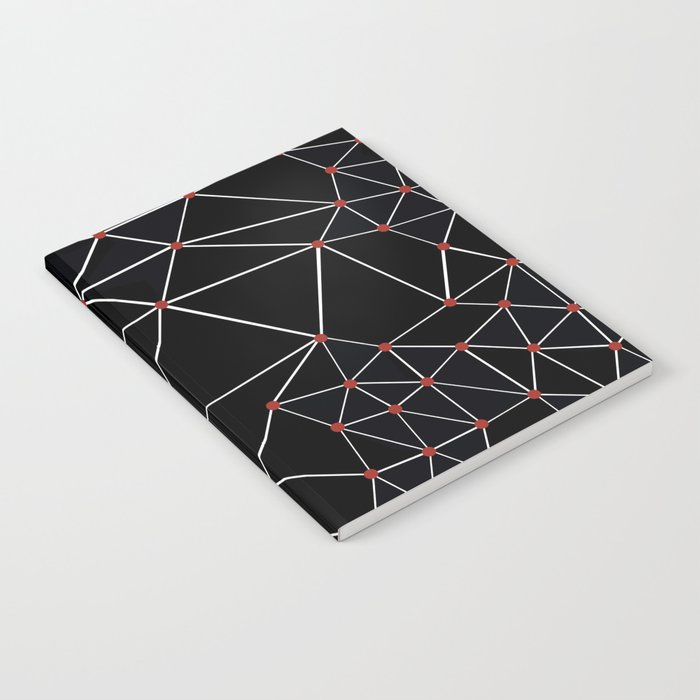 Seg with Red Spots Notebook