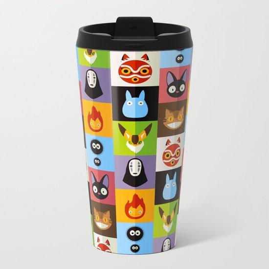 Miyazaki's Metal Travel Mug