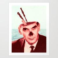 butcher billy Art Prints featuring Butcher by Dorian Danielsen