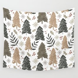 Winter in the Woods  Wall Tapestry