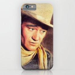 John Wayne, Movie Legend iPhone Case