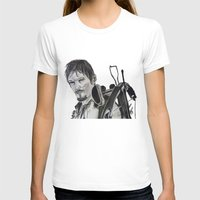 daryl dixon T-shirts featuring Daryl Dixon by Brittany Ketcham