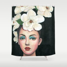 A crown of flowers Shower Curtain