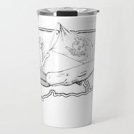Connecticut Mermaid Travel Mug