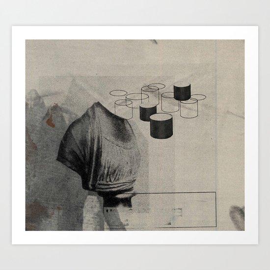 Die Dinge häufen sich, II Art Print