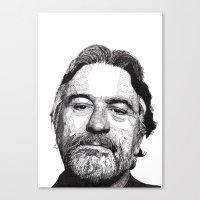 robert farkas Canvas Prints featuring Robert by Rik Reimert