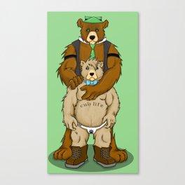 Cub Life Canvas Print
