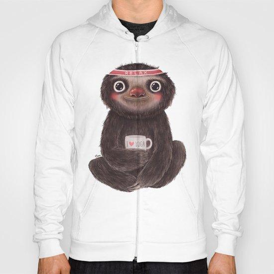 Sloth I♥yoga Hoody