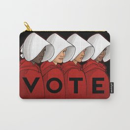 Handmaids Vote Carry-All Pouch