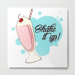 Shake It Up Metal Print