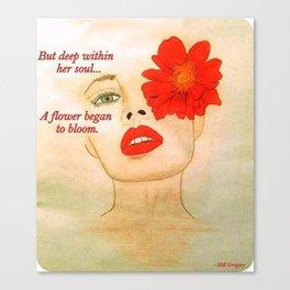 Soul Blossom Canvas Print