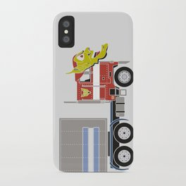 Robot's Wrong Disguise iPhone Case