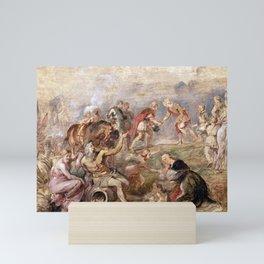 Peter Paul Rubens Meeting of King Ferdinand of Hungary and the Cardinal-Infante Ferdinand of Spain a Mini Art Print