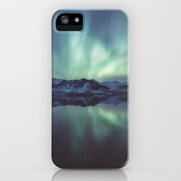 Jokulsarlon Lagoon - Landscape and Nature Photography iPhone Case