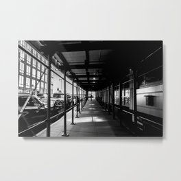 The Tunnel new york photography Metal Print