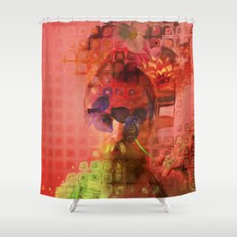 Destructuring Shower Curtain