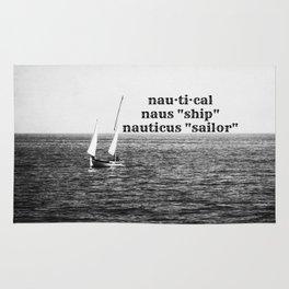 Nautical definition Rug