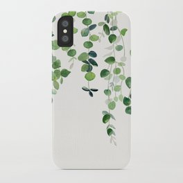 Eucalyptus Watercolor 2  iPhone Case