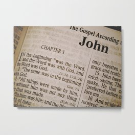 Book of John Metal Print