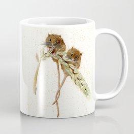 Two Mice - animal watercolor painting Coffee Mug