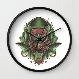 skull road Wall Clock