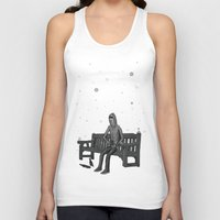 whisky Tank Tops featuring snow & whisky by ASIMON
