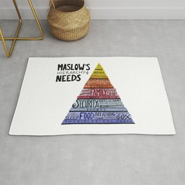 Maslow's Hierarchy of Needs Rug