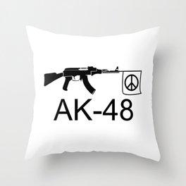 AK-48 Throw Pillow