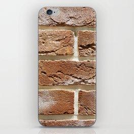 Brick wall texture iPhone Skin