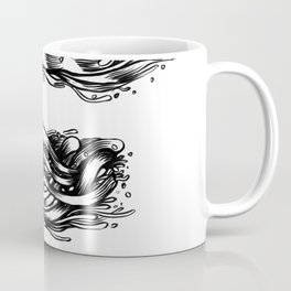 The Illustrated E Coffee Mug