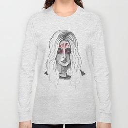 Kill Me B/W Long Sleeve T-shirt