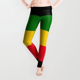 Rastafarian Colors Leggings