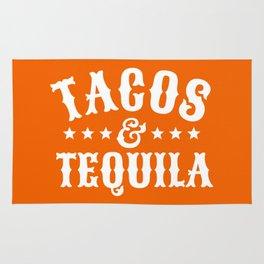 Tacos & Tequila (Orange) Rug
