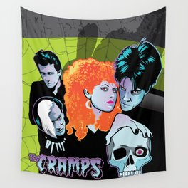 The Cramps Wall Tapestry