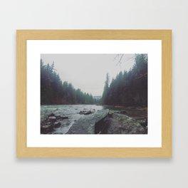 Quiet River Framed Art Print