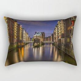 Hamburg River Rectangular Pillow