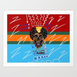 Dope Creates Monsters Ultimate Art Print