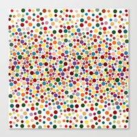 dot Canvas Prints featuring Dot... by DesignsByMarly