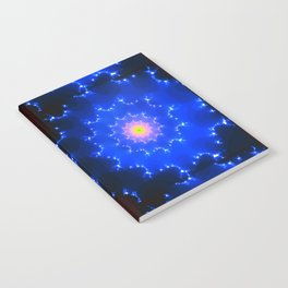 Mosaic in Blue Notebook