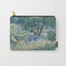 Olive Orchard by Vincent van Gogh Carry-All Pouch