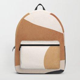Minimal Abstract Art Landscape 9 Backpack