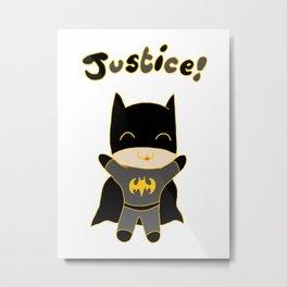 Baby Justice Metal Print