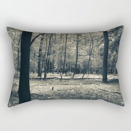 The Serene Forest Rectangular Pillow