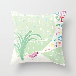 Singin in the Rain Throw Pillow