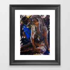 Contemplations on the Void Framed Art Print