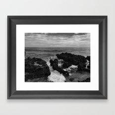 coral cove Framed Art Print