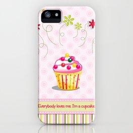 Cupcake Love iPhone Case