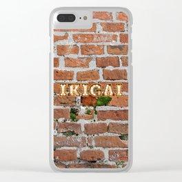 IKIGAI - Brick Clear iPhone Case