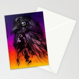 sunset_hawk Stationery Cards